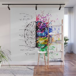 Conjoined Dichotomy Wall Mural