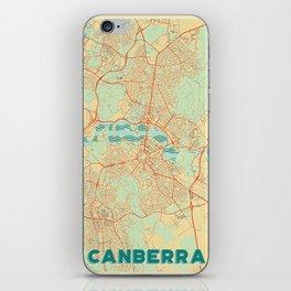 Canberra Map Retro iPhone Skin