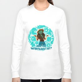 Are you entertained yet? || ScribbleNetty (Colored) Long Sleeve T-shirt