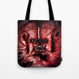 Badger Bad Red Tote Bag