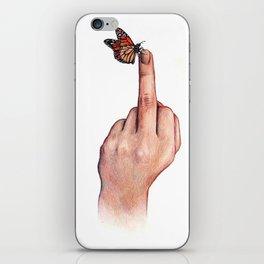 Fuck världen iPhone Skin