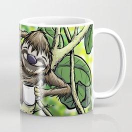 Good Morning Sloth Coffee Mug