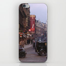 Piccadilly London Kodachrome iPhone Skin