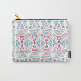 Triangles and Tribal Carry-All Pouch