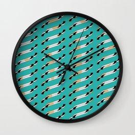 Wisps Wall Clock