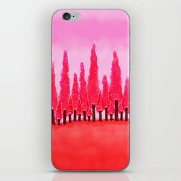 Pink Forest iPhone Skin