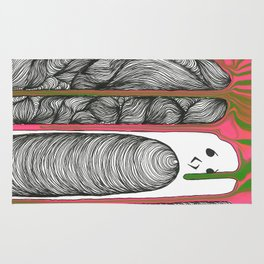 Drippy Personality  Rug