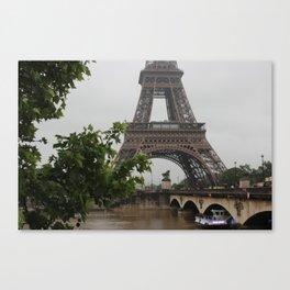 eiffel for you Canvas Print