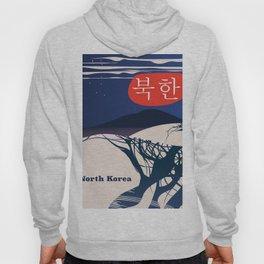 North Korean Vintage travel poster Hoody