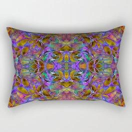 Fractal Floral Abstract G126 Rectangular Pillow