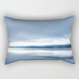 Soft winter sky Rectangular Pillow