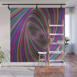 Psychedelic colors Wall Mural