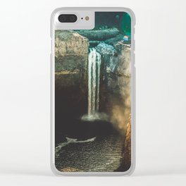 Washington Heights - nature photography Clear iPhone Case