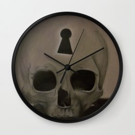All seeing all knowing II Wall Clock