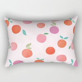 Tangerine Dream Rectangular Pillow