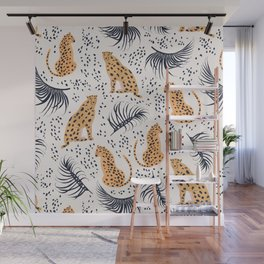 Cheetah Wall Mural
