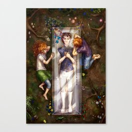 The Darkest Part of the Forest Canvas Print