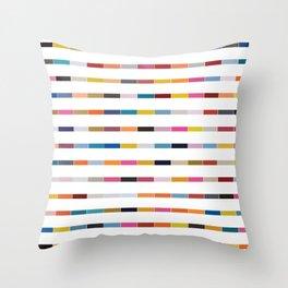 Dot // Dash // Dash // Dot Throw Pillow