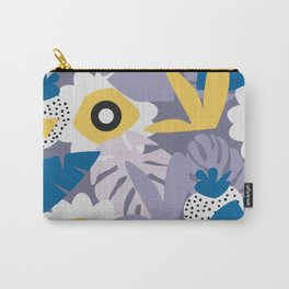 Purple botany with funny strawberries Carry-All Pouch