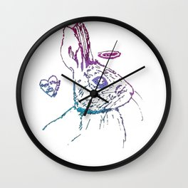 HALO Foundation Shirt Wall Clock