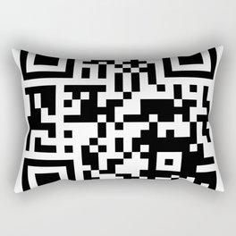QR Code to site Pornhub Rectangular Pillow