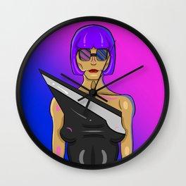 Chic Model Wall Clock