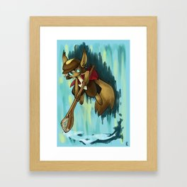 Rainy Framed Art Print