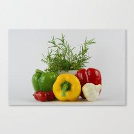 Fresh and tasty Canvas Print