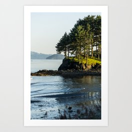 Edge of the Water Art Print