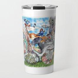 Ghibli Compilation Travel Mug