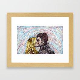 Captain Swan Framed Art Print