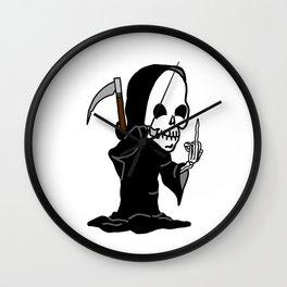 Funny Reaper Wall Clock