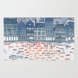 Serenissima - Venice in the Evening Rug