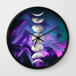 Hey Moon Wall Clock