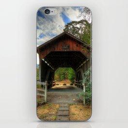 Lost Creek Covered Bridge iPhone Skin