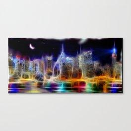 Starry Night New York City Canvas Print
