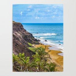 Praia Do Amor, Pipa - Brazil Poster