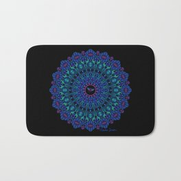 Tribal Manta Mandala Bath Mat