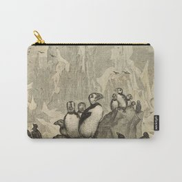 Naturalist Penguin And Puffin Carry-All Pouch