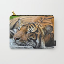 Tiger, Tiger Fast Asleep Carry-All Pouch