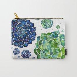 Colour splash succulents Carry-All Pouch