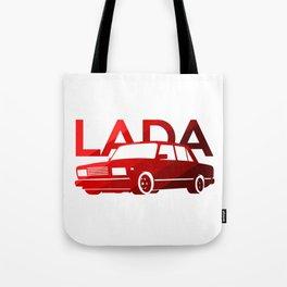 Lada 2107 - classic red - Tote Bag
