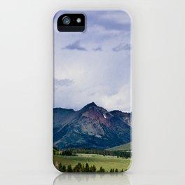 Electric Peak Yellowstone iPhone Case