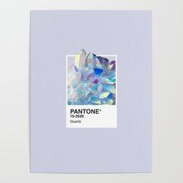 PANTONE SERIES – QUARTZ Poster