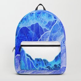 The cold mountain sea Backpack