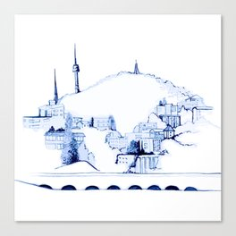 Namsan  Canvas Print