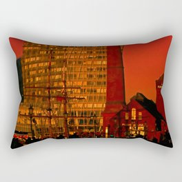 The Pump House Rectangular Pillow