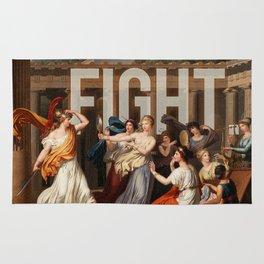 Fight. Rug