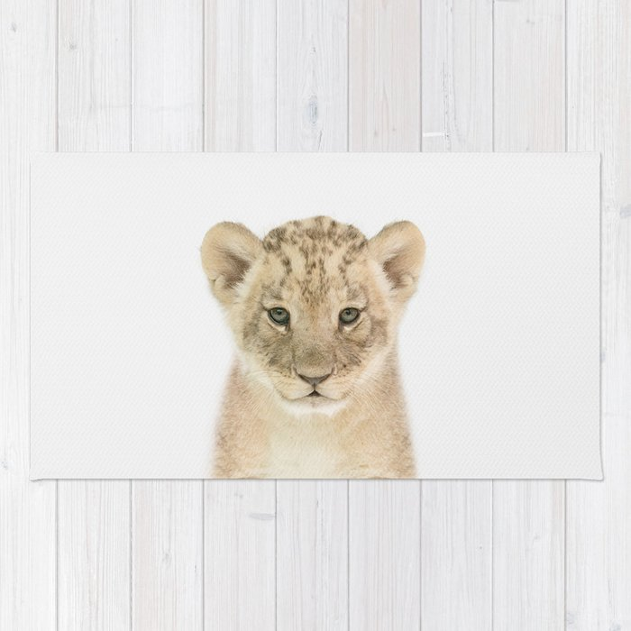 Baby Lion Rug
