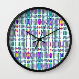 rhombus sky Wall Clock